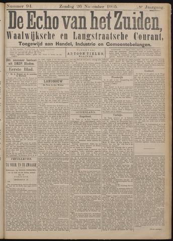 Echo van het Zuiden 1905-11-23