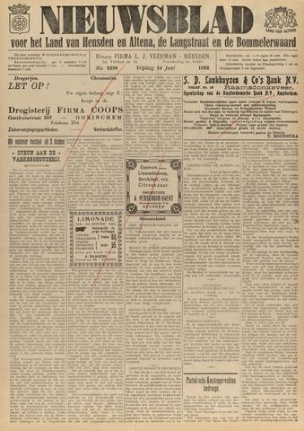Nieuwsblad het land van Heusden en Altena de Langstraat en de Bommelerwaard 1932-06-24