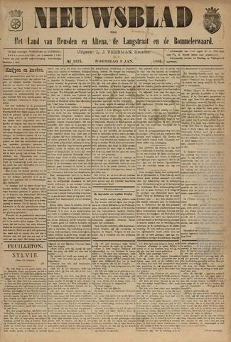 Nieuwsblad het land van Heusden en Altena de Langstraat en de Bommelerwaard 1895-01-09