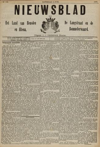Nieuwsblad het land van Heusden en Altena de Langstraat en de Bommelerwaard 1891-06-06