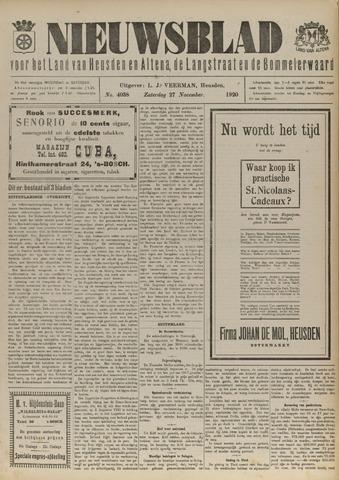 Nieuwsblad het land van Heusden en Altena de Langstraat en de Bommelerwaard 1920-11-27