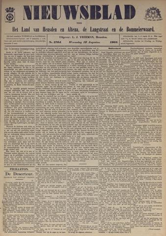 Nieuwsblad het land van Heusden en Altena de Langstraat en de Bommelerwaard 1908-08-19