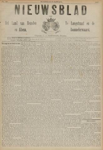 Nieuwsblad het land van Heusden en Altena de Langstraat en de Bommelerwaard 1891-01-21