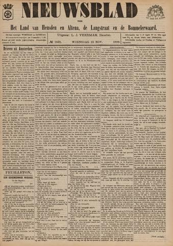 Nieuwsblad het land van Heusden en Altena de Langstraat en de Bommelerwaard 1899-11-22