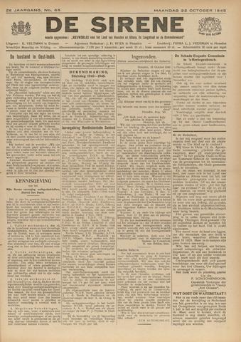 De Sirene 1945-10-22