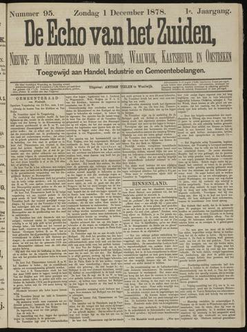 Echo van het Zuiden 1878-12-01