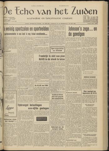 Echo van het Zuiden 1964-11-09