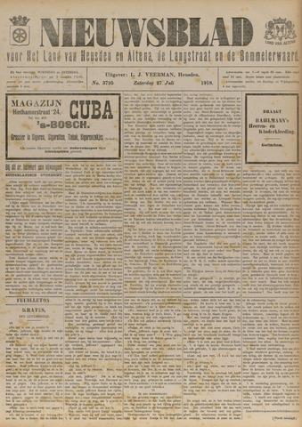 Nieuwsblad het land van Heusden en Altena de Langstraat en de Bommelerwaard 1918-07-27