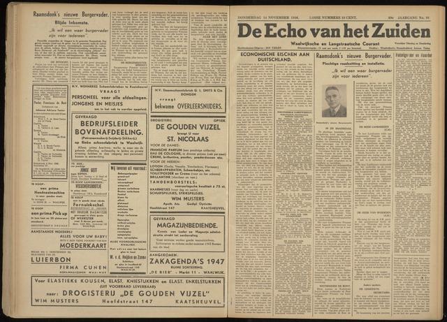 Echo van het Zuiden 1946-11-14
