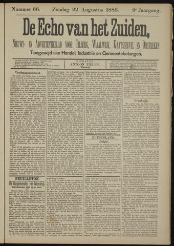 Echo van het Zuiden 1886-08-22