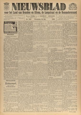 Nieuwsblad het land van Heusden en Altena de Langstraat en de Bommelerwaard 1932-05-18