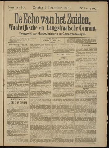Echo van het Zuiden 1895-12-01