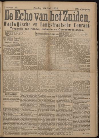 Echo van het Zuiden 1916-07-23