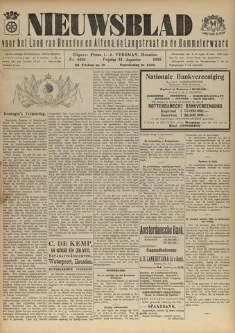 Nieuwsblad het land van Heusden en Altena de Langstraat en de Bommelerwaard 1923-08-31