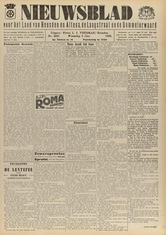Nieuwsblad het land van Heusden en Altena de Langstraat en de Bommelerwaard 1929-06-05