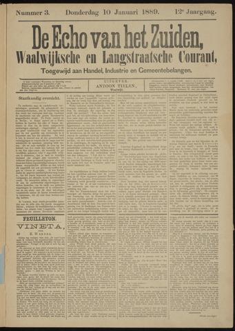 Echo van het Zuiden 1889-01-10