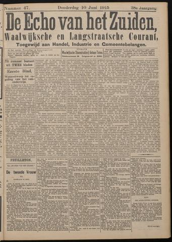 Echo van het Zuiden 1915-06-10