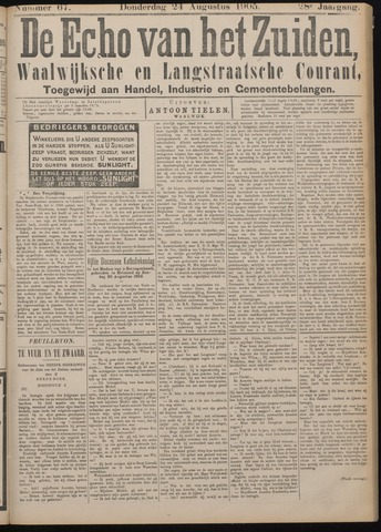 Echo van het Zuiden 1905-08-24