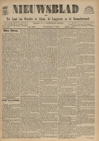 Nieuwsblad het land van Heusden en Altena de Langstraat en de Bommelerwaard 1902-10-08
