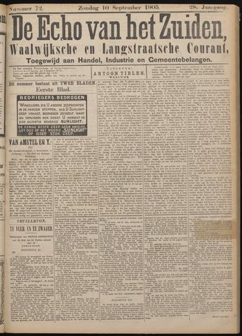 Echo van het Zuiden 1905-09-10