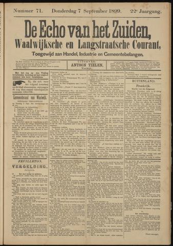 Echo van het Zuiden 1899-09-07