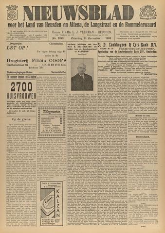 Nieuwsblad het land van Heusden en Altena de Langstraat en de Bommelerwaard 1932-12-31