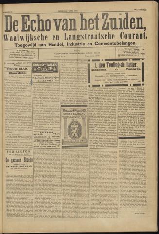 Echo van het Zuiden 1923-04-07