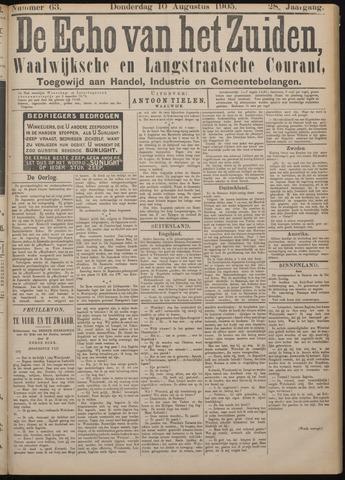 Echo van het Zuiden 1905-08-10