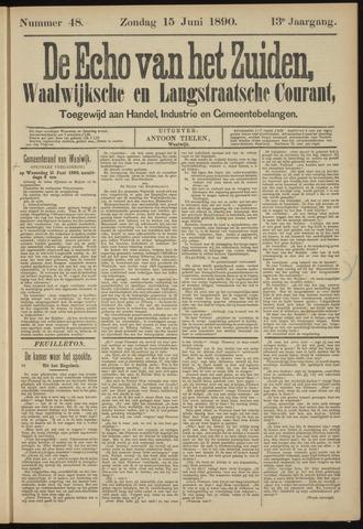 Echo van het Zuiden 1890-06-15