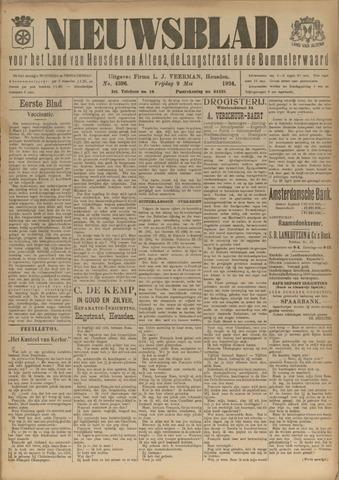 Nieuwsblad het land van Heusden en Altena de Langstraat en de Bommelerwaard 1924-05-09
