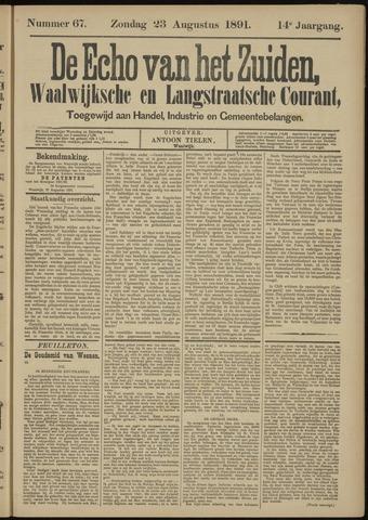 Echo van het Zuiden 1891-08-23