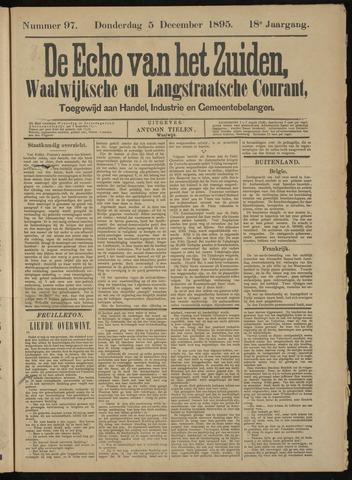 Echo van het Zuiden 1895-12-05