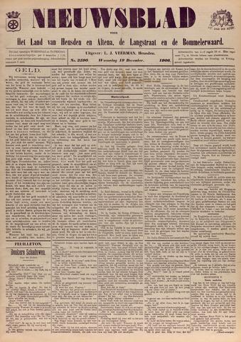 Nieuwsblad het land van Heusden en Altena de Langstraat en de Bommelerwaard 1906-12-19