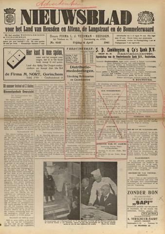 Nieuwsblad het land van Heusden en Altena de Langstraat en de Bommelerwaard 1941-04-04