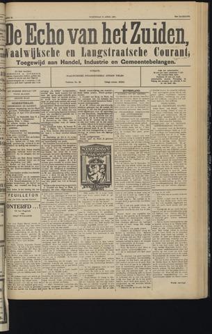 Echo van het Zuiden 1931-04-15