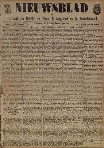 Nieuwsblad het land van Heusden en Altena de Langstraat en de Bommelerwaard 1894-01-04