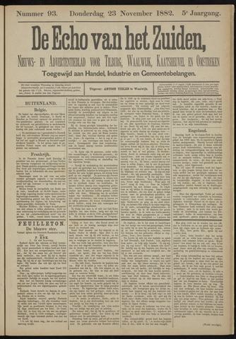 Echo van het Zuiden 1882-11-23