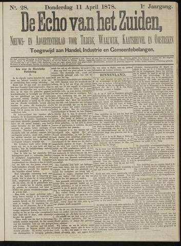 Echo van het Zuiden 1878-04-11