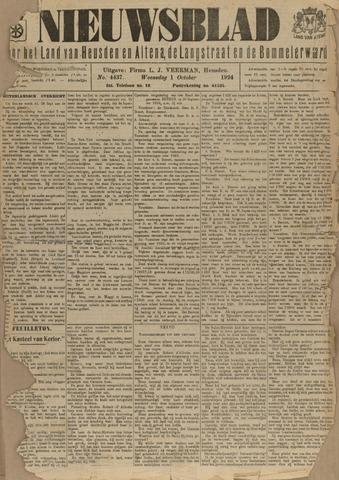 Nieuwsblad het land van Heusden en Altena de Langstraat en de Bommelerwaard 1924-10-01