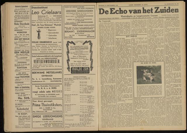 Echo van het Zuiden 1948-09-28