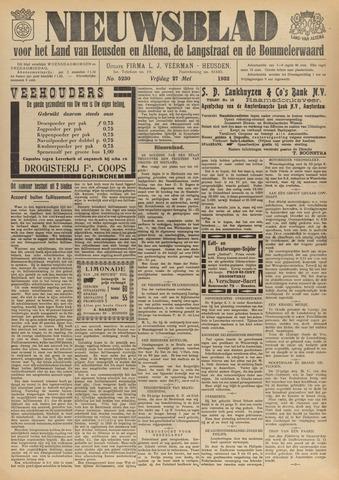 Nieuwsblad het land van Heusden en Altena de Langstraat en de Bommelerwaard 1932-05-27