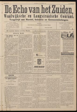 Echo van het Zuiden 1938-10-29