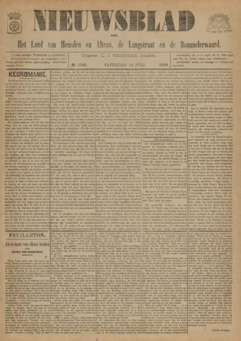 Nieuwsblad het land van Heusden en Altena de Langstraat en de Bommelerwaard 1896-07-18