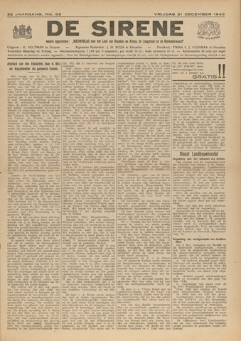 De Sirene 1945-12-21