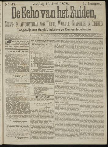 Echo van het Zuiden 1878-06-16