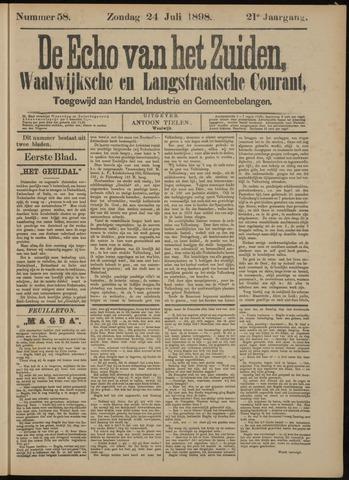 Echo van het Zuiden 1898-07-24