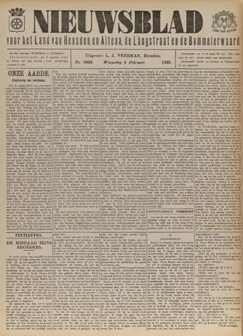 Nieuwsblad het land van Heusden en Altena de Langstraat en de Bommelerwaard 1920-02-04