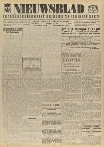 Nieuwsblad het land van Heusden en Altena de Langstraat en de Bommelerwaard 1929-05-24