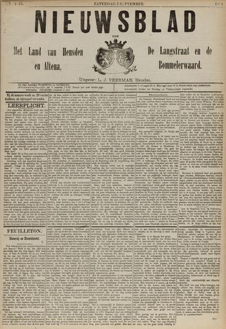 Nieuwsblad het land van Heusden en Altena de Langstraat en de Bommelerwaard 1891-09-05