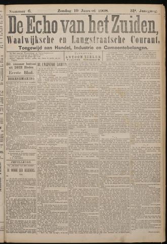 Echo van het Zuiden 1908-01-19